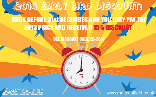 Early Bird Discount 2014