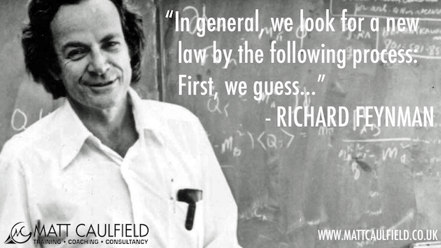 Richard Feynman Guess